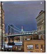 Manhattan Empire State Acrylic Print
