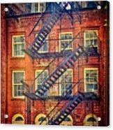 Manhattan Facade Acrylic Print