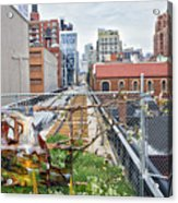 Manhattan High Line Acrylic Print