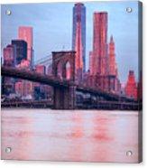 Manhattan -  New York City - Usa Acrylic Print