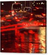 Manhattan Night Acrylic Print