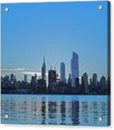 Manhattan Reflections  Acrylic Print