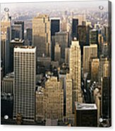 Manhattan Skyline - New York City Acrylic Print