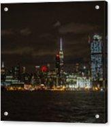 Manhattan Skyline 5 Acrylic Print