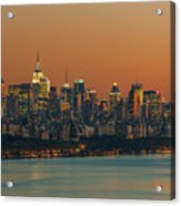 Manhattan Twilight I Acrylic Print