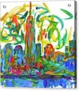 Manhattan Twirl Acrylic Print