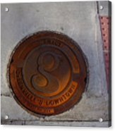 Manhole I Acrylic Print