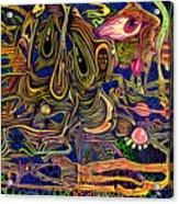 Manic Depression Acrylic Print