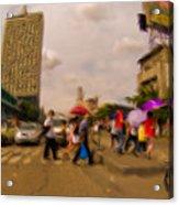 Manila Crosswalk 6292972 Acrylic Print