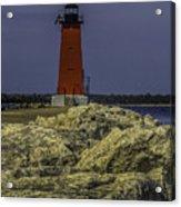 Manistique East Breakwater Light Acrylic Print