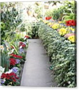 Manito Park Conservatory Acrylic Print