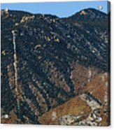 Manitou Incline Photographed From Red Rock Canyon Acrylic Print