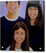 Mann Family Acrylic Print