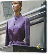 Mannequin In The Passage Acrylic Print