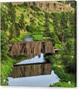 Manning-rye Bridge Acrylic Print
