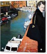 Manola In Livorno Acrylic Print by Matthew Bates