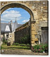 Manor House Entry Acrylic Print