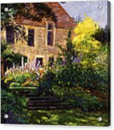 Manor House Steps Acrylic Print
