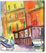 Manorola In Italy 04 Acrylic Print