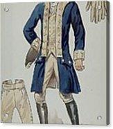 Man's Uniforms Acrylic Print
