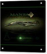 Manta Concept Acrylic Print