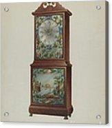 Mantel Clock Acrylic Print