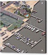 Mantoloking Yacht Club Mantoloking New Jersey II Acrylic Print