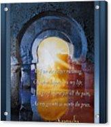 Kaypacha's Mantra  3.25.2015 Acrylic Print
