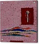 Manuscript Homage To Hildegard Acrylic Print by Aneesha Parrone