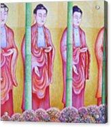 Many Budhas Acrylic Print