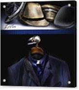 Many Hats One Collar Acrylic Print