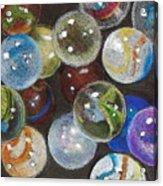 Many Marbles Acrylic Print