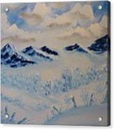 Many Valleys Acrylic Print