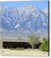 Manzanar A Blight On America 1 Acrylic Print