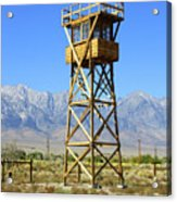 Manzanar A Blight On America 2 Acrylic Print