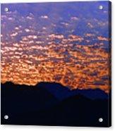 Manzanillo Sunset 3 Acrylic Print