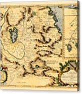 Map Of Africa 1690 Acrylic Print