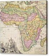 Map Of Africa Acrylic Print