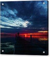 Maplehurst Dock Acrylic Print