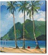 Maracas Bay 3 Acrylic Print