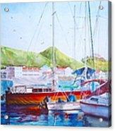 Maragot Harbor Acrylic Print