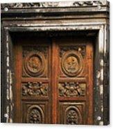 Marais Doorway Acrylic Print
