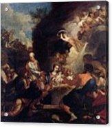 Maratti Carlo Adoration Of The Shepherds Acrylic Print