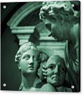 Marble Statue Catus 1 No. 2 H B Acrylic Print