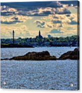 Marblehead Points To The Ocean Acrylic Print