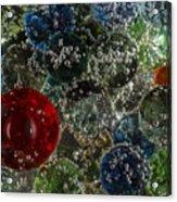 Marbles Clear Soda 2 Acrylic Print