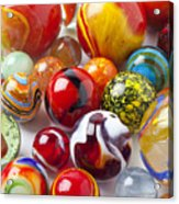Marbles Close Up Acrylic Print