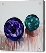 Marbles Of My Reflection Acrylic Print