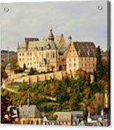 Marburg Castle Germany H B Acrylic Print