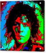 Marc Bolan Acrylic Print